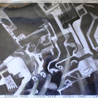 Cityscape - graphite